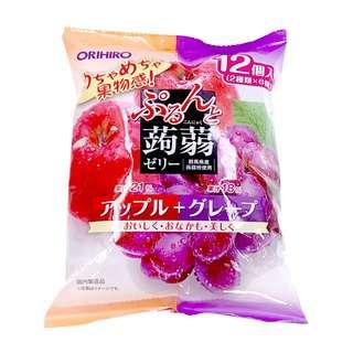 Orihiro Purun To Konnyaku Jelly Apple and Grape