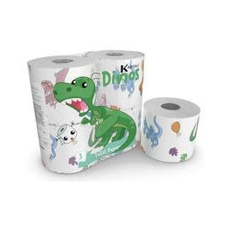 KARTIKA Dinos Toilet Paper 200SX4