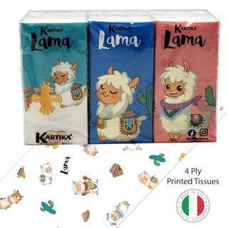 KARTIKA Lama Printed Tissue (6 Pack x 9)