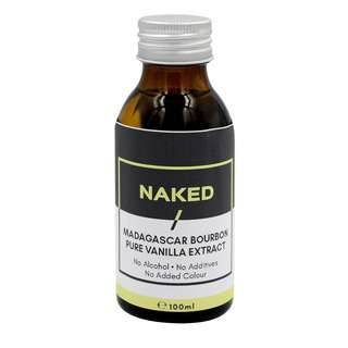 NAKED Madagascar Bourbon Pure Vanilla Extract (Alcohol-free)