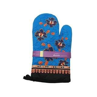 ACE Merlion Batik Oven Mitt Set(Blue)