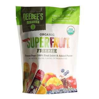 Deebees Organic Superfruit Freezee