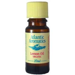 Atlantic Aromatics Lemon Organic Essential Oil