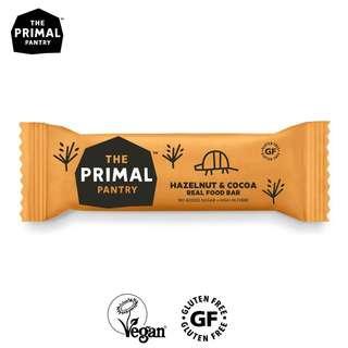 Primal Pantry Hazelnut Cocoa Nut Snack Bar - Gluten Free Vega