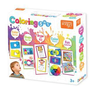 Learning Kitds Colouring 5 In 1