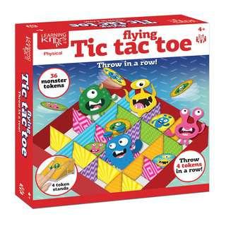 Learning Kitds Flying Tic Tac Toe