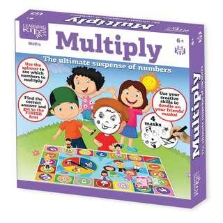 Learning Kitds Multiply Game
