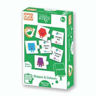 Learning Kitds Shapes & Colours Puzzles