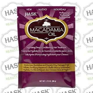 Hask Macadamia Oil Moisturizing Deep Conditioner