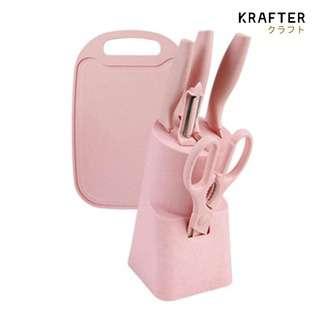 KRAFTER Non-Stick Ceramic Coating Knives 7pcs Set