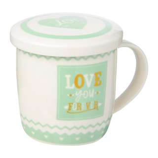 Dolphin Collection Porcelain Mug With Cover (Colour Box)