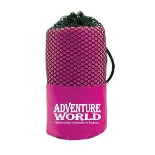 Adventure World Microfibre Bath Towel (Dark Pink)