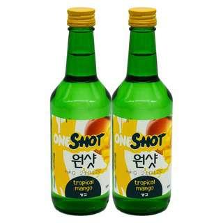 ONE SHOT Tropical Mango Soju