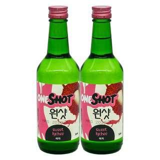 ONE SHOT Sweet Lychee Soju