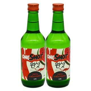 ONE SHOT Juicy Watermelon Soju