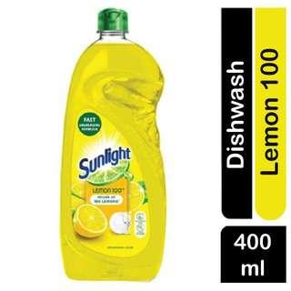 Sunlight Lemon  DISHWASHING LIQUID - FAST Degreasing Formula