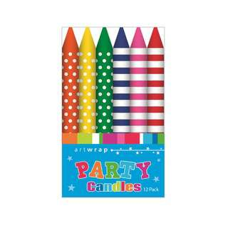 IG Design Group Party Candles - Brights