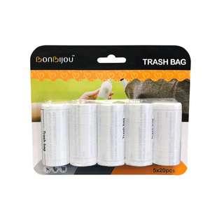 Bonbijou Trash Bag Refills 5 X 20Pcs