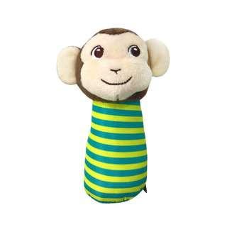 Bonbijou Squeakie & Rattle Toy (Monkey)