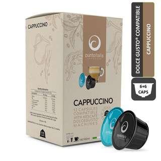 PUNTO ITALIA ESPRESSO CAPPUCCINO Dolce Gusto Coffee Pods