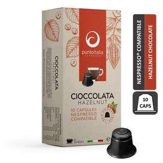PUNTO ITALIA ESPRESSO CIOCCOLATA HAZELNUT Nespresso Choco Pod