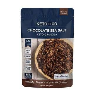 Keto & Co Granola - Chocolate Sea Salt