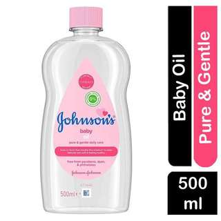 Johnson's BABY Oil Pure & Gentle Daily Care