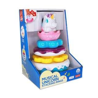 Hap-P-Kid Musical Unicorn Stacking Rings