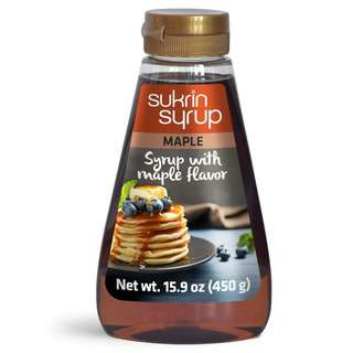 Sukrin Sugar Free Erythitol Maple Syrup