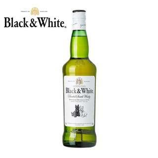 Black & White Scotch Whisky