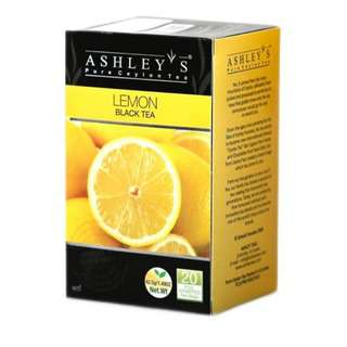 Ashley's Premium Tea Bags - Lemon Black Tea