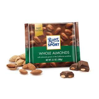 Ritter Sport Whole Almonds