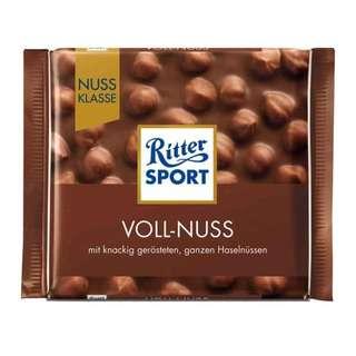 Ritter Sport Whole Hazelnuts