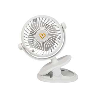 Bonbijou Clip On Fan (White)