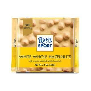 Ritter Sport White Whole Hazelnut