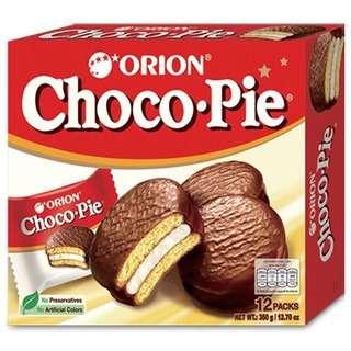 Orion Choco Pie 12p (Halal)