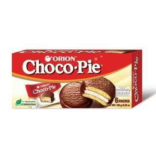 Orion Choco Pie 6p (Halal)