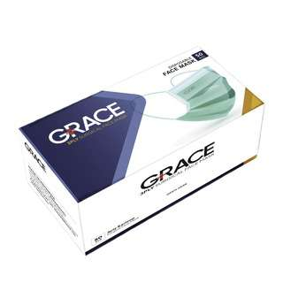 Grace 3 Ply Surgical Face Mask BFE 98%