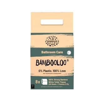 Bambooloo 100% Bamboo Toilet RollsGrab Bag 1X8S