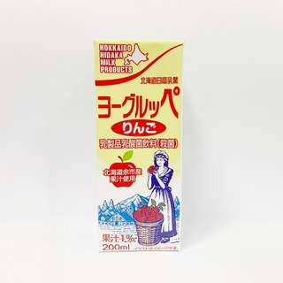 Hokkaido Hidaka Milk - Apple Yoghurt