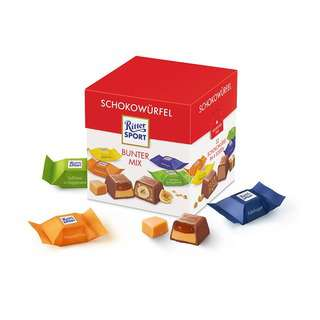 Ritter Sport Choco Cubes Colorful Mix