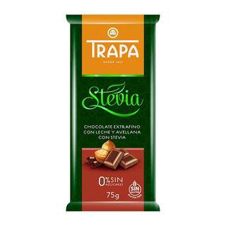 Trapa Trapa Sugar Free Hazelnut Milk Chocolate with Stevia