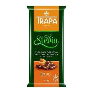Trapa Trapa Sugar Free Almond Milk Chocolate with Stevia