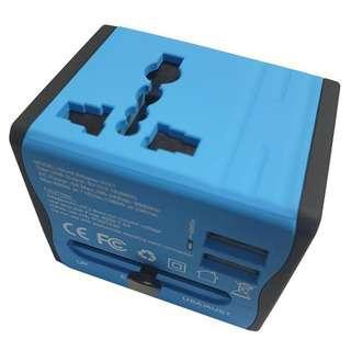 OEM Universal Travel Adapter (Blue)
