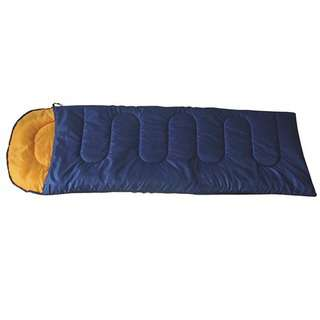 Adventure World Hollow Fibre Sleeping Bag (Navy Blue)