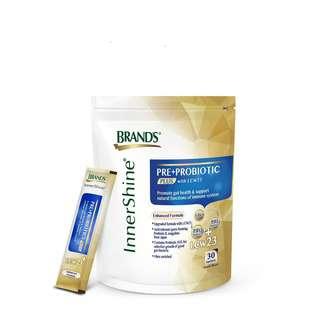 Brand's InnerShine Pre + Probiotics PLUS with LCW23