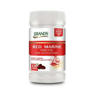 Brand's Red Marine Fish Oil with Astaxanthin
