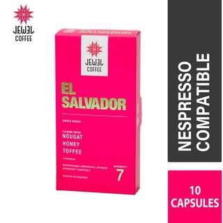 Jewel Coffee  Specialty Coffee Capsules  El Salvador (10pc)