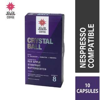 Jewel Coffee  Specialty Coffee Capsules  Crystal Ball (10pc)