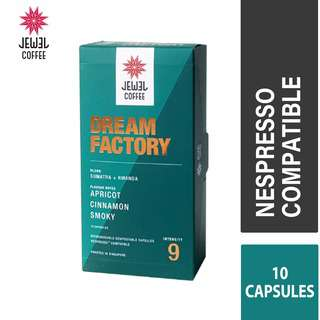 Jewel Coffee Specialty Coffee Capsules  Dream Factory (10pc)